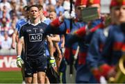 16 July 2017; Dublin captain Stephen Cluxton who today makes his 88th Senior Championship appearance, equalising the all-time record with Tomás Ó Sé and Marc Ó Sé of Kerry at the Leinster GAA Football Senior Championship Final match between Dublin and Kildare at Croke Park in Dublin.  Photo by Ray McManus/Sportsfile