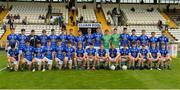 16 July 2017; The Cavan squad before the Electric Ireland Ulster GAA Football Minor Championship Final match between Cavan and Derry at St Tiernach's Park in Clones, Co. Monaghan. Photo by Oliver McVeigh/Sportsfile