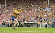 9 July 2017; Tony Kelly of Clare scoring a point from a penalty during the Munster GAA Hurling Senior Championship Final match between Clare and Cork at Semple Stadium in Thurles, Co Tipperary. Photo by Piaras Ó Mídheach/Sportsfile