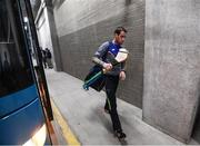 22 July 2017; Patrick Donnellan of Clare arrives prior to the GAA Hurling All-Ireland Senior Championship Quarter-Final match between Clare and Tipperary at Páirc Uí Chaoimh in Cork. Photo by Stephen McCarthy/Sportsfile