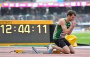 22 July 2017; Paul Keogan of Ireland competing in the Men's 400m, T37, Heat during the 2017 Para Athletics World Championships at the Olympic Stadium in London. Photo by Luc Percival/Sportsfile