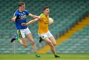 22 July 2017; Jack Heslin of Leitrim in action against Philip O'Connor of Kerry during the GAA Football All-Ireland Junior Championship Semi-Final match between Kerry and Leitrim at Gaelic Grounds in Co. Limerick. Photo by Piaras Ó Mídheach/Sportsfile