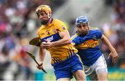 22 July 2017; Cian Dillon of Clare in action against John McGrath of Tipperary during the GAA Hurling All-Ireland Senior Championship Quarter-Final match between Clare and Tipperary at Páirc Uí Chaoimh in Cork. Photo by Stephen McCarthy/Sportsfile