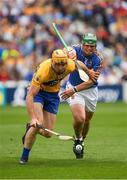 22 July 2017; Cian Dillon of Clare in action against John O'Dwyer of Tipperary during the GAA Hurling All-Ireland Senior Championship Quarter-Final match between Clare and Tipperary at Páirc Uí Chaoimh in Cork. Photo by Ray McManus/Sportsfile