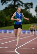 22 July 2017; Emma Mitchell of Queens University AC, Co. Antrim, on her way to winning the Women's 5000m during the Irish Life Health National Senior Track & Field Championships – Day 1 at Morton Stadium in Santry, Co. Dublin. Photo by Sam Barnes/Sportsfile