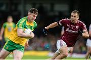 22 July 2017; Patrick McBrearty of Donegal in action against Cathal Sweeney of Galway during the GAA Football All-Ireland Senior Championship Round 4A match between Galway and Donegal at Markievicz Park in Co. Sligo. Photo by Oliver McVeigh/Sportsfile