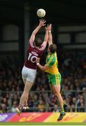 22 July 2017; Thomas Flynn of Galway in action against Michael Murphy of Donegal during the GAA Football All-Ireland Senior Championship Round 4A match between Galway and Donegal at Markievicz Park in Co. Sligo. Photo by Oliver McVeigh/Sportsfile
