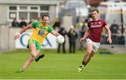22 July 2017; Michael Murphy of Donegal in action against Liam Silke of Galway during the GAA Football All-Ireland Senior Championship Round 4A match between Galway and Donegal at Markievicz Park in Co. Sligo. Photo by Oliver McVeigh/Sportsfile