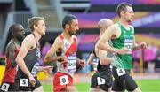 22 July 2017; Michael McKillop, right, of Ireland competing in the Men's 1500m, T37, Final during the 2017 Para Athletics World Championships at the Olympic Stadium in London. Photo by Luc Percival/Sportsfile
