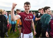 22 July 2017; Johnny Heaney of Galway celebrates after the GAA Football All-Ireland Senior Championship Round 4A match between Galway and Donegal at Markievicz Park in Co. Sligo. Photo by Oliver McVeigh/Sportsfile