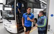 23 July 2017; Lee Chin of Wexford arrives prior to the GAA Hurling All-Ireland Senior Championship Quarter-Final match between Wexford and Waterford at Páirc Uí Chaoimh in Cork. Photo by Stephen McCarthy/Sportsfile