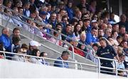23 July 2017; Wexford manager Davy Fitzgerald makes his way from his seat in the stands to the changing rooms before the half-time break during the GAA Hurling All-Ireland Senior Championship Quarter-Final match between Wexford and Waterford at Páirc Uí Chaoimh in Cork. Photo by Stephen McCarthy/Sportsfile