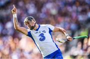 23 July 2017; Maurice Shanahan of Waterford celebrates after scoring a second half point during the GAA Hurling All-Ireland Senior Championship Quarter-Final match between Wexford and Waterford at Páirc Uí Chaoimh in Cork. Photo by Stephen McCarthy/Sportsfile