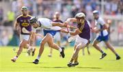 23 July 2017; Maurice Shanahan of Waterford in action against James Breen of Wexford during the GAA Hurling All-Ireland Senior Championship Quarter-Final match between Wexford and Waterford at Páirc Uí Chaoimh in Cork. Photo by Stephen McCarthy/Sportsfile