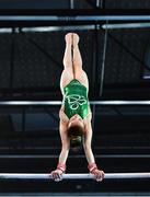 23 July 2017; Emma Slevin of Team Ireland from Corcullen, Co. Galway during the European Youth Olympic Festival 2017 gymnastics training day at Olympic Park in Gyor, Hungary. Photo by Eóin Noonan/Sportsfile