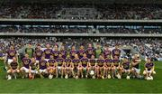 23 July 2017; The Wexford squad before the GAA Hurling All-Ireland Senior Championship Quarter-Final match between Wexford and Waterford at Páirc Uí Chaoimh in Cork. Photo by Ray McManus/Sportsfile