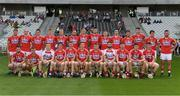 23 July 2017; The Cork squad before the GAA Hurling All-Ireland Intermediate Championship Final match between Cork and Kilkenny at Páirc Uí Chaoimh in Cork. Photo by Ray McManus/Sportsfile