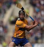 22 July 2017; Tony Kelly of Clare during the GAA Hurling All-Ireland Senior Championship Quarter-Final match between Clare and Tipperary at Páirc Uí Chaoimh in Cork. Photo by Cody Glenn/Sportsfile
