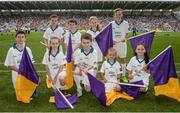 23 July 2017; Flagbearers ahead of the GAA Hurling All-Ireland Senior Championship Quarter-Final match between Wexford and Waterford at Páirc Uí Chaoimh in Cork. Photo by Cody Glenn/Sportsfile