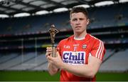 26 July 2017; Cork hurler Conor Lehane, GAA/GPA Player of the Month for May, at Croke Park in Dublin. Photo by Cody Glenn/Sportsfile