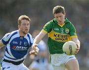 25 March 2012; Kieran O'Leary, Kerry, in action against Cahir Healy, Laois. Allianz Football League Division 1, Round 6, Kerry v Laois, Fitzgerald Stadium, Killarney, Co. Kerry. Picture credit: Brendan Moran / SPORTSFILE