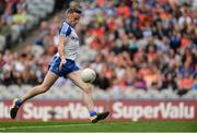 29 July 2017; Fintan Kelly of Monaghan scores his side's first goal during the GAA Football All-Ireland Senior Championship Round 4B match between Down and Monaghan at Croke Park in Dublin. Photo by Piaras Ó Mídheach/Sportsfile