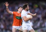 29 July 2017; Fergal Conway of Kildare in action against Aidan Forker of Armagh during the GAA Football All-Ireland Senior Championship Round 4B match between Armagh and Kildare at Croke Park in Dublin. Photo by Stephen McCarthy/Sportsfile