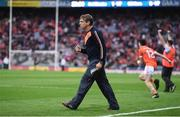 29 July 2017; Armagh manager Kieran McGeeney at the final whistle during the GAA Football All-Ireland Senior Championship Round 4B match between Armagh and Kildare at Croke Park in Dublin. Photo by Stephen McCarthy/Sportsfile