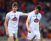 29 July 2017; Fionn Dowling, right, and Kevin Feely of Kildare following the GAA Football All-Ireland Senior Championship Round 4B match between Armagh and Kildare at Croke Park in Dublin. Photo by Stephen McCarthy/Sportsfile