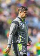 30 July 2017; Kerry manager Eamonn Fitzmaurice ahead of the GAA Football All-Ireland Senior Championship Quarter-Final match between Kerry and Galway at Croke Park in Dublin. Photo by Ramsey Cardy/Sportsfile