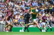 30 July 2017; Paul Geaney of Kerry in action against Eoghan Kerin of Galway during the GAA Football All-Ireland Senior Championship Quarter-Final match between Kerry and Galway at Croke Park in Dublin. Photo by Ramsey Cardy/Sportsfile