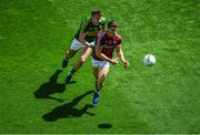 30 July 2017; Shane Walsh of Galway in action against James O'Donoghue of Kerry during the GAA Football All-Ireland Senior Championship Quarter-Final match between Kerry and Galway at Croke Park in Dublin. Photo by Stephen McCarthy/Sportsfile