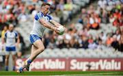 29 July 2017; Fintan Kelly of Monaghan on his way to scoring his side's first goal during the GAA Football All-Ireland Senior Championship Round 4B match between Down and Monaghan at Croke Park in Dublin. Photo by Piaras Ó Mídheach/Sportsfile