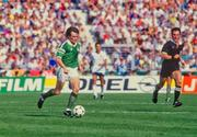 12 June 1988; Ray Houghton of Republic of Ireland during the UEFA European Football Championship Finals Group B match between England and Republic of Ireland at Neckarstadion in Stuttgart, Germany. Photo by Ray McManus/Sportsfile