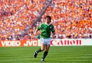 18 June 1988; Ray Houghton of Republic of Ireland during the UEFA European Football Championship Finals Group B match between Republic of Ireland and Netherlands at Parkstadion in Gelsenkirchen, Germany. Photo by Ray McManus/Sportsfile