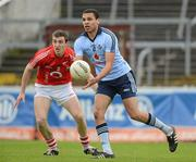 8 April 2012; Craig Dias, Dublin, in action against Ray Carey, Cork. Allianz Football League Division 1, Round 7, Cork v Dublin, Pairc Ui Chaoimh, Cork. Picture credit: David Maher / SPORTSFILE