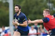 1 August 2017; Barry Daly, left, and Dan Leavy of Leinster during an open training session at Arklow RFC in Arklow, Co Wicklow. Photo by Ramsey Cardy/Sportsfile