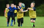 2 August 2017; Harry Stephens takes the ball from Conor O'Shea and Darragh Peters during a Bank of Ireland Leinster Rugby Summer Camp at Gorey RFC in Gorey, Co Wexford. Photo by Matt Browne/Sportsfile
