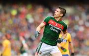 30 July 2017; Lee Keegan of Mayo during the GAA Football All-Ireland Senior Championship Quarter-Final match between Mayo and Roscommon at Croke Park in Dublin. Photo by Ramsey Cardy/Sportsfile