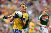 30 July 2017; Enda Smith of Roscommon during the GAA Football All-Ireland Senior Championship Quarter-Final match between Mayo and Roscommon at Croke Park in Dublin. Photo by Ramsey Cardy/Sportsfile