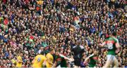 30 July 2017; Supporters during the GAA Football All-Ireland Senior Championship Quarter-Final match between Mayo and Roscommon at Croke Park in Dublin. Photo by Ramsey Cardy/Sportsfile