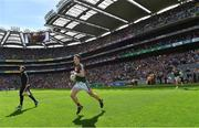 30 July 2017; Cillian O'Connor of Mayo during the GAA Football All-Ireland Senior Championship Quarter-Final match between Mayo and Roscommon at Croke Park in Dublin. Photo by Ramsey Cardy/Sportsfile