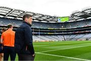 5 August 2017; Armagh manager Kieran McGeeney ahead of the GAA Football All-Ireland Senior Championship Quarter-Final match between Tyrone and Armagh at Croke Park in Dublin. Photo by Ramsey Cardy/Sportsfile