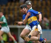 8 August 2002; Dermot Gleeson, Tipperary, in action against Mark Keane, Limerick. Tipperary v Limerick, Munster U-21 Hurling Final, Semple Stadium, Thurles, Co. Tipperary. Picture credit; Damien Eagers / SPORTSFILE *EDI*