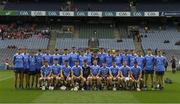 6 July 2017; The Dublin squad before  the All-Ireland U17 Hurling Championship Final match between Dublin and Cork at Croke Park in Dublin. Photo by Ray McManus/Sportsfile