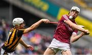 6 August 2017; Jack Canning of Galway is tackled by Michael Carey of Kilkenny during the Electric Ireland GAA Hurling All-Ireland Minor Championship Semi-Final match between Kilkenny and Galway at Croke Park in Dublin. Photo by Ramsey Cardy/Sportsfile