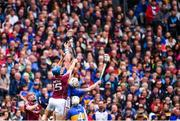 6 August 2017; Conor Cooney of Galway in action against Ronan Maher of Tipperary during the GAA Hurling All-Ireland Senior Championship Semi-Final match between Galway and Tipperary at Croke Park in Dublin. Photo by Ramsey Cardy/Sportsfile