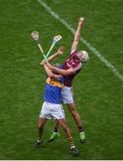 6 August 2017; Pádraic Mannion of Galway in action against Patrick Maher of Tipperary during the GAA Hurling All-Ireland Senior Championship Semi-Final match between Galway and Tipperary at Croke Park in Dublin. Photo by Daire Brennan/Sportsfile