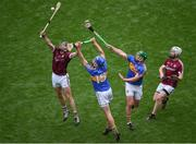 6 August 2017; Séamus Callanan of Tipperary in action against Gearóid McInerney of Galway during the GAA Hurling All-Ireland Senior Championship Semi-Final match between Galway and Tipperary at Croke Park in Dublin. Photo by Daire Brennan/Sportsfile