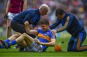 6 August 2017; Seamus Callanan of Tipperary recieves treatment during the GAA Hurling All-Ireland Senior Championship Semi-Final match between Galway and Tipperary at Croke Park in Dublin. Photo by Sam Barnes/Sportsfile